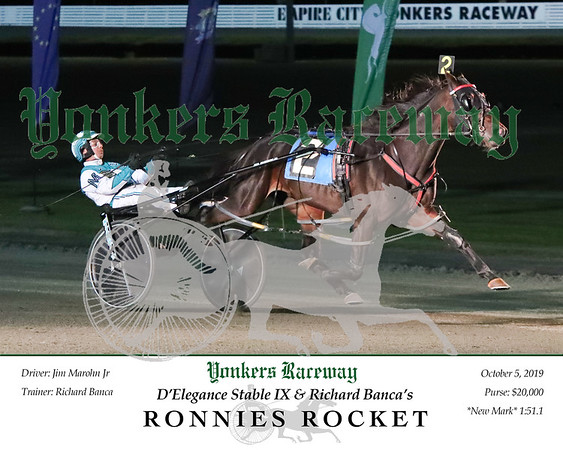20191005 Race 5- Ronnies Rocket