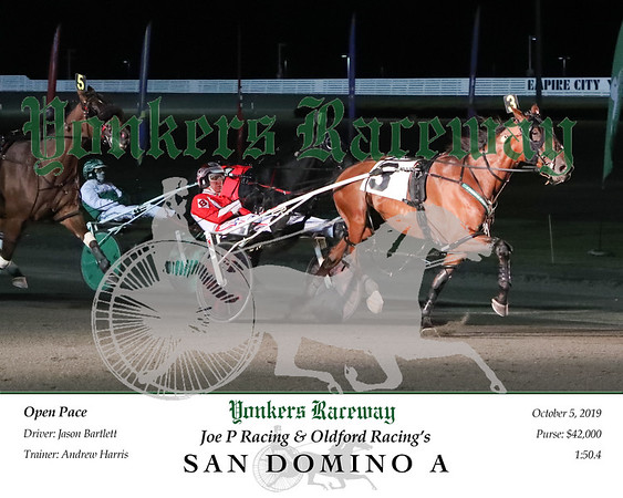 20191005 Race 6- San Domino A 2