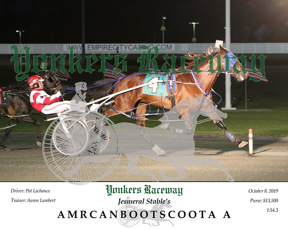20191008 Race 1- Amrcanbootscoota A