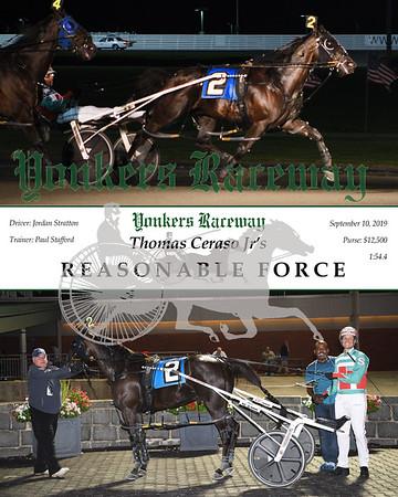 09102019 Race 8- reasonable force