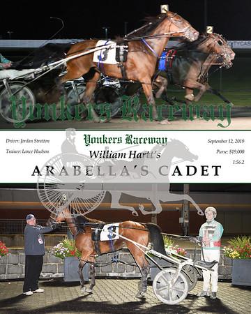 09122019 Race 11- arabella's cadet 2