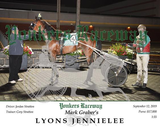 09122019 Race 8- lyons jennielee