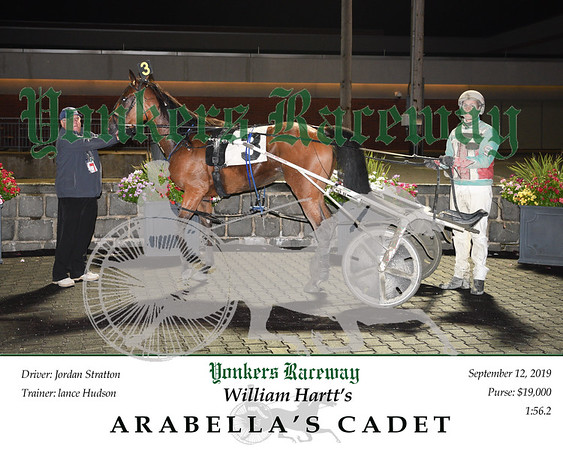 09122019 Race 11- arabella's cadet