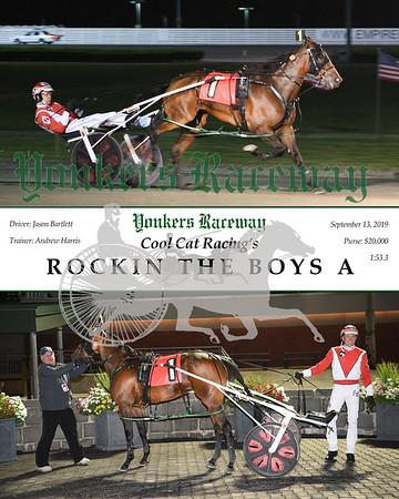 09132019 Race 9- rockin the boys a