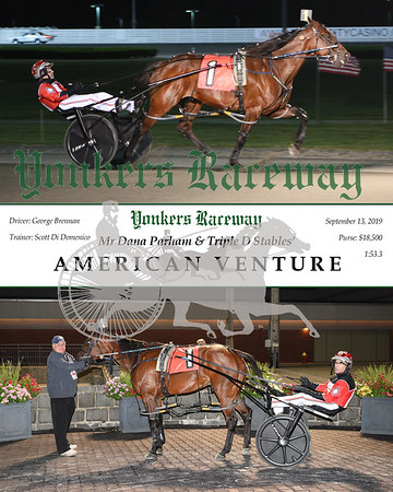 09132019 Race 5- american venture