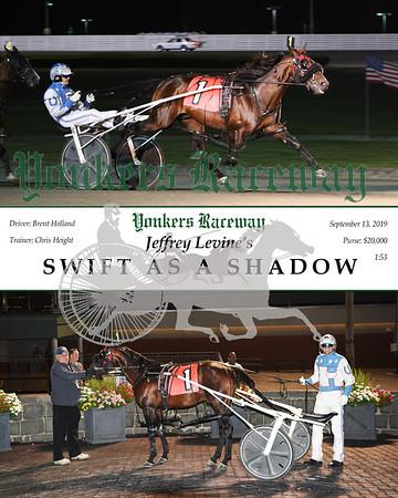 09132019 Race 3- swift as a shadow