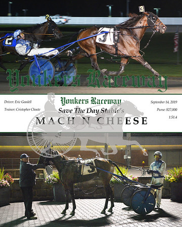 09142019 Race 11- mach n cheese