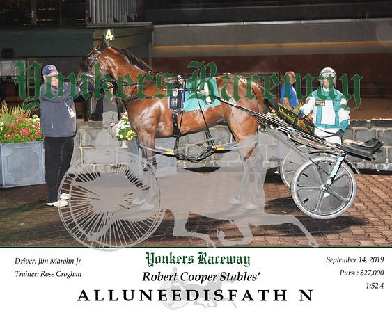 09142019 Race 12- alluneedisfath n