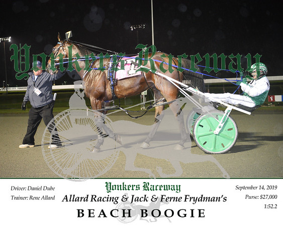 09142019 Race 5- beach boogie 2