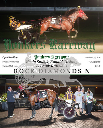 09142019 Race 6- rock diamonds n