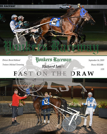 09162019 Race 5-Fast On The Draw