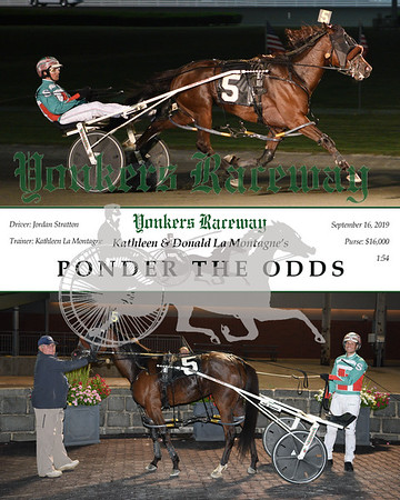 09162019 Race 9-Ponder the Odds