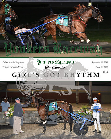 09162019 Race 10-Girl's Got Rhythm