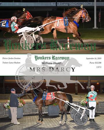09162019 Race 2-Mrs Darcy