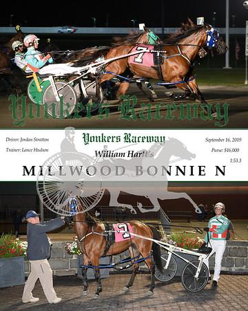 09162019 Race 4-Millwood Bonnie N