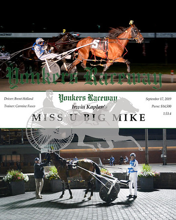 20190917 Race 10- Miss U Big Mike