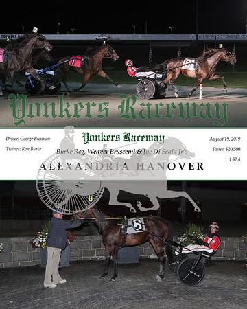 20190919 Race 8- Alexandria Hanover