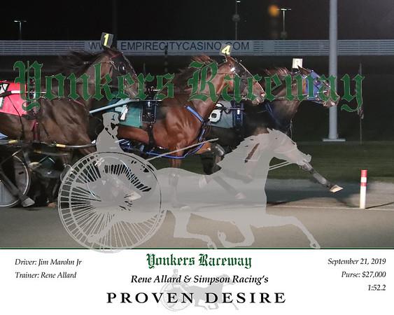 20190921 Race 7- Proven Desire
