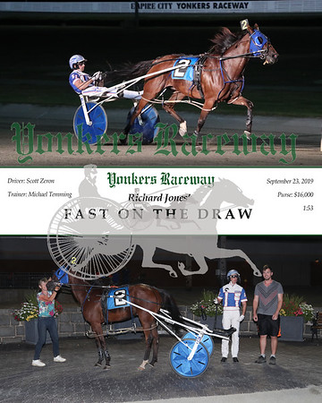 20190923 Race 4- Fast On The Draw 2