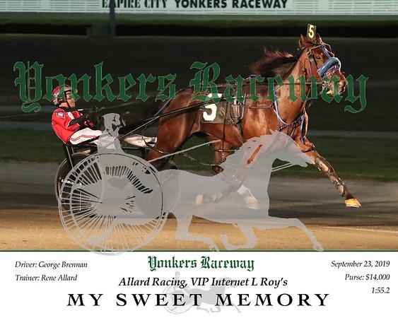 20190923 Race 1- My Sweet Memory 2