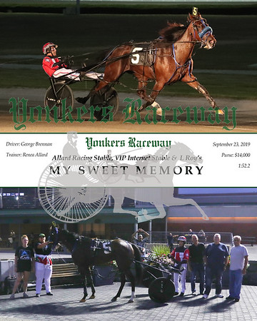 20190923 Race 1- My Sweet Memory