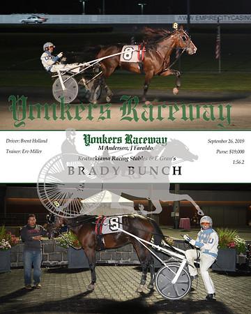 20190926 Race 10- Brady Bunch