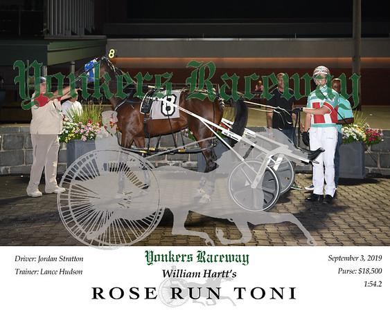 09032019 Race 6- rose run toni