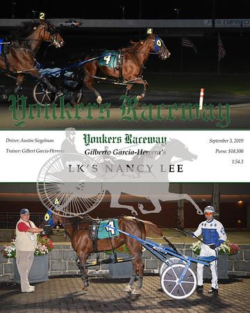 09032019 Race 10- LK'S NANCY LEE