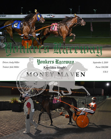 09032019 Race 7- Money Maven