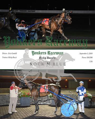 09032019 Race 11- Rock n Blue