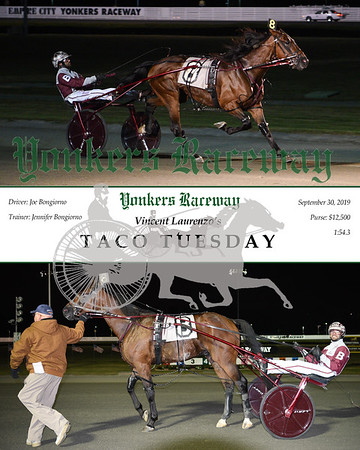 09302019 Race 5-Taco Tuesday