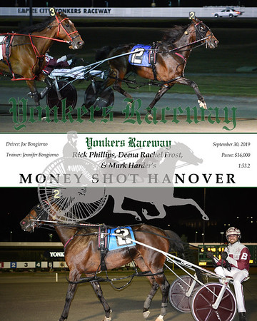 09302019 Race 6-Money Shot Hanover