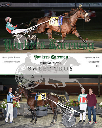 09302019 Race 1- Sweet Troy
