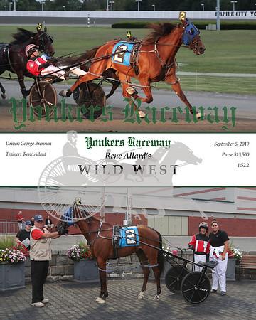 09052019 Race 1- Wild West 2