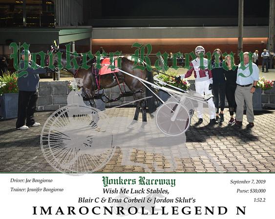 09072019 Race 11- IMAROCNROLLLEGEND N