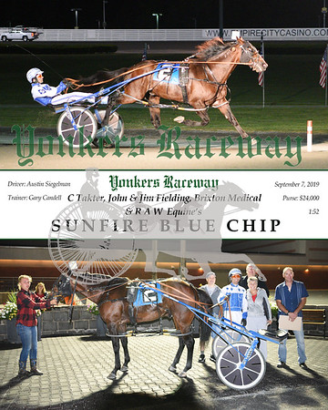 09072019 Race 9- sunfire blue chip