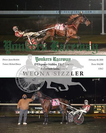 20200210 Race 10- Weona Sizzler