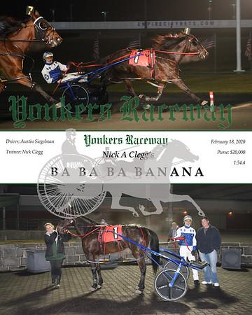 20200218 Race 11- Ba Ba Ba Banana