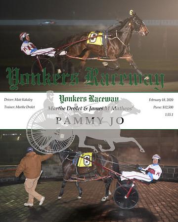20200218 Race 3- Pammy Jo