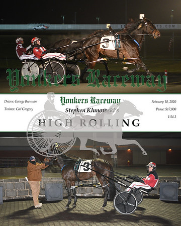20200218 Race 9- High Rolling A