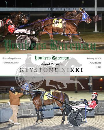 20200220 Race 1- Keystone Nikki