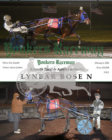 20200206 Race 10- Lynbar Rose N