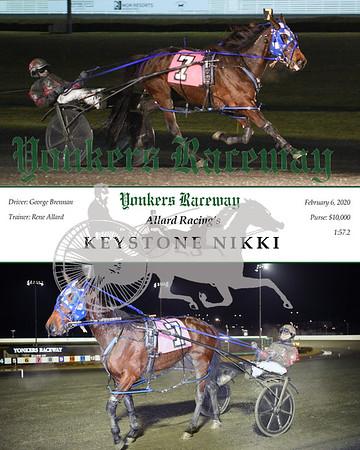 20200206 Race 3- Keystone Nikki
