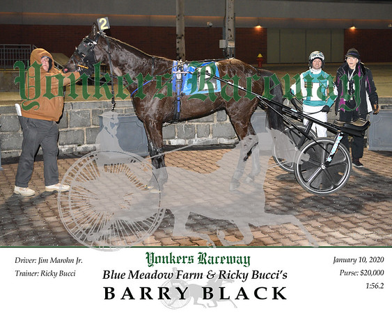 20200110 Race 2- Barry Black