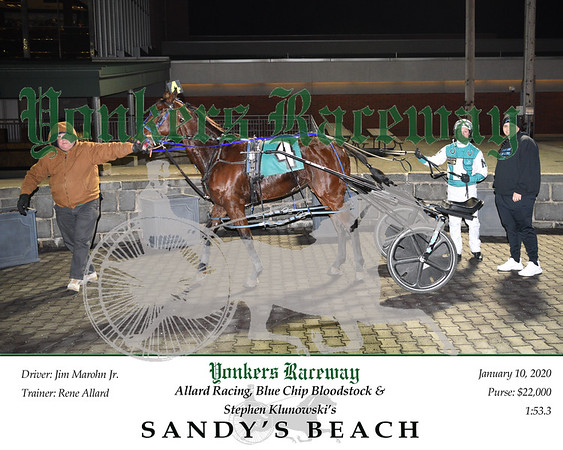 20200110 Race 8- Sandy's Beach 1