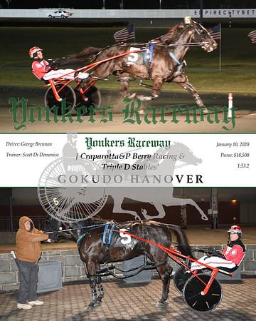 20200110 Race 1- Gokudo Hanover