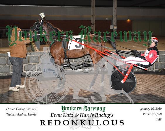 20200110 Race 3- Redonkulous