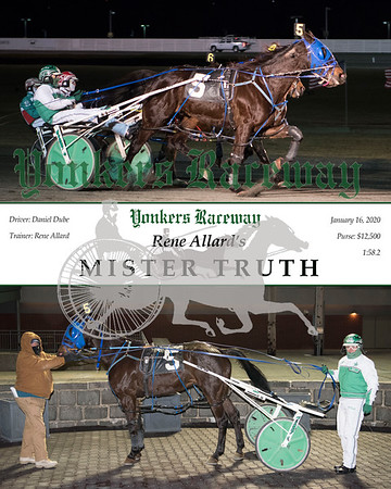20200116 Race 1- Mister Truth