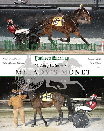 20200118 Race 2- Melady's Monet
