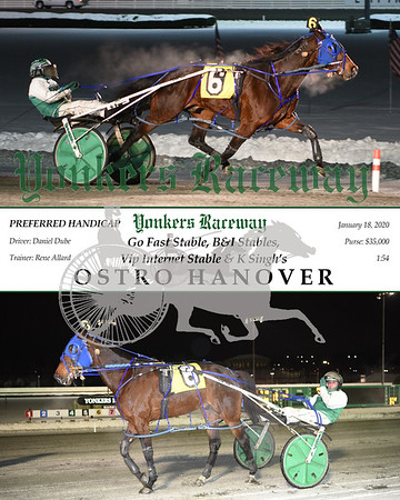 20200118 Race 7- Ostro Hanover